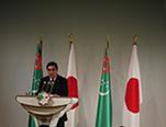 ベルディムハメドフ大統領スピーチ